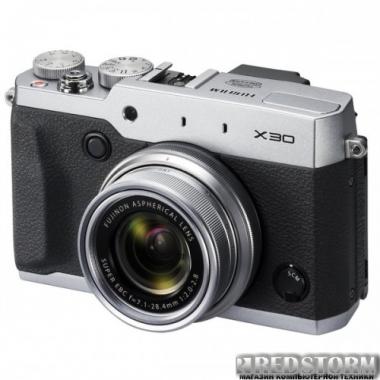 Фотоаппарат Fujifilm FinePix X30 Silver (16437750)