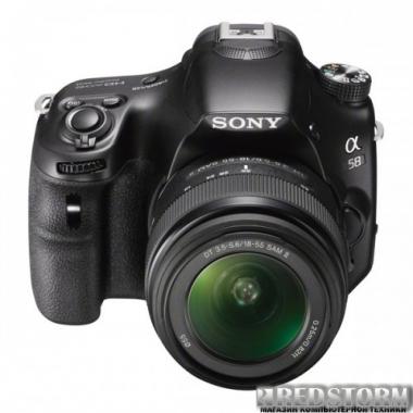 Фотоаппарат Sony Alpha SLT-A58 18-55mm Kit