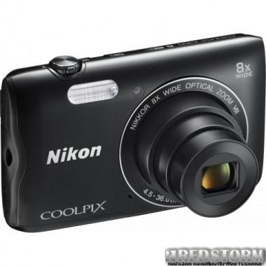Фотоаппарат Nikon Coolpix A300 Black (VNA961E1)