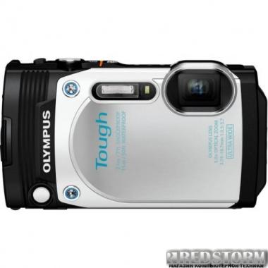 Фотоаппарат Olympus STYLUS TG-870 White (V104200WE000)