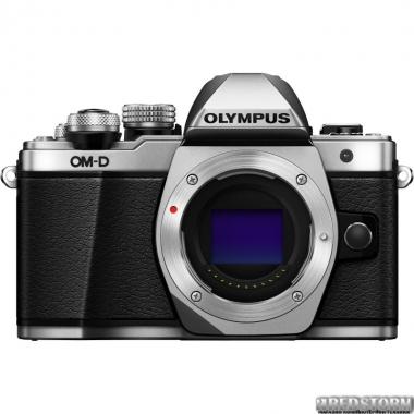 Фотоаппарат Olympus OM-D E-M10 Mark II Body Silver (V207050SE000)
