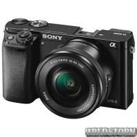 Sony Alpha 6000 Kit 16-50mm Black (ILCE6000LB.CEC)