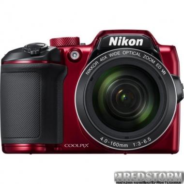 Фотоаппарат Nikon Coolpix B500 Red (VNA953E1)