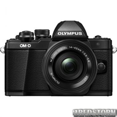 Фотоаппарат Olympus OM-D E-M10 Mark II Pancake Zoom 14-42mm Kit Black (V207052BE000)