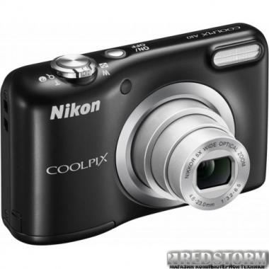 Фотоаппарат Nikon Coolpix A10 Black (VNA981E1)