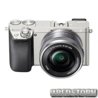 Sony Alpha 6000 Kit 16-50mm Silver (ILCE6000LS.CEC)