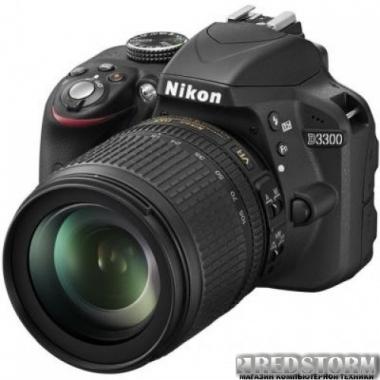 Фотоаппарат Nikon D3300 18-105mm f/3.5-5.6G VR Kit Black (VBA390K005)