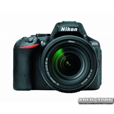 Фотоаппарат Nikon D5500 18-140mm VR Black Kit (VBA440K005)
