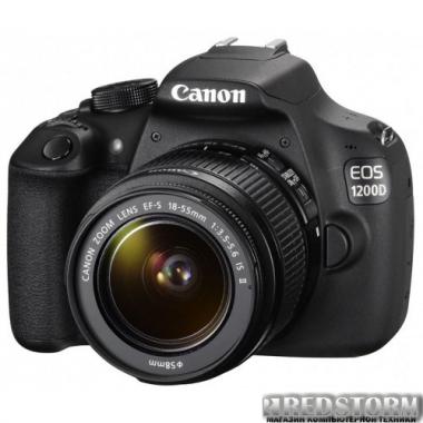 Фотоаппарат Canon EOS 1200D 18-55 IS II Kit (9127B022)