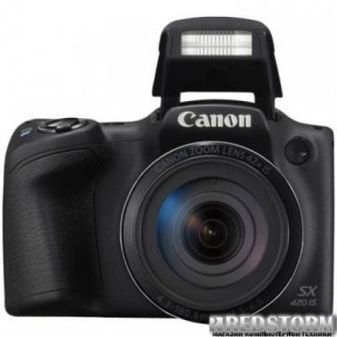 Фотоаппарат Canon PowerShot SX420 IS Black (1068C012AA)