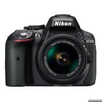 Nikon D5300 + AF-P 18-55mm VR Black Kit (VBA370K007)