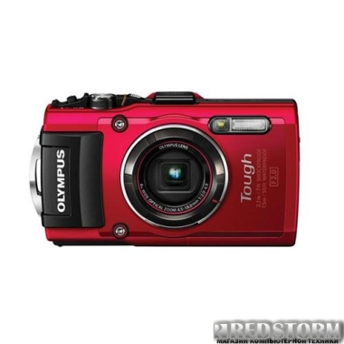 Фотоаппарат Olympus TG-4 Red (V104160RE000)