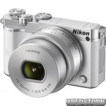 Nikon 1 J5 10-30mm VR PD-Zoom Kit White (VVA242K001)