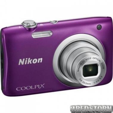 Фотоаппарат Nikon Coolpix A100 Purple (VNA973E1)