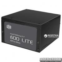 Cooler Master MasterWatt Lite 230V (ErP 2013) 600W (MPX-6001-ACABW-EU)