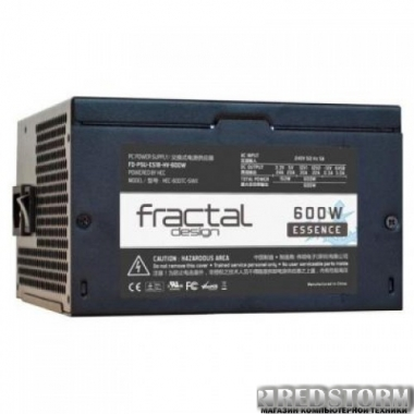 Блок питания Fractal Design Essence Black 600W (FD-PSU-ES1B-HV-600W)