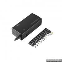 Зарядное устройство Trust 120w Plug and go laptop and phone charger - black(16891)