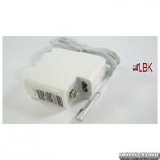 Блок питания для ноутбука APPLE MagSafe 18.5V, 4.6A, 85W, white, квадратный, с евро-адаптером, L-образный разъём MagSafe (1995601)