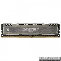 Модуль памяти Crucial Ballistix Sport DDR4 2400 16GB , Silver, Retail BLS16G4D240FSB