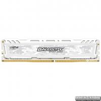 Оперативная память Crucial DDR4-2666 4096MB PC4-21300 Ballistix Sport LT White (BLS4G4D26BFSC)