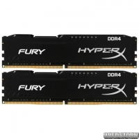 Оперативная память HyperX DDR4-2666 16384MB PC4-21300 (Kit of 2x8192) Fury Black (HX426C16FB2K2/16)