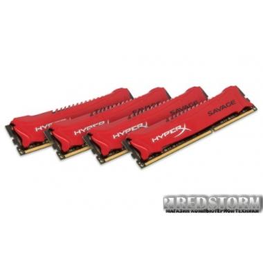 Память Kingston DDR3-2133 32768MB PC3-17000 (Kit of 4x8192) HyperX Savage (HX321C11SRK4/32)