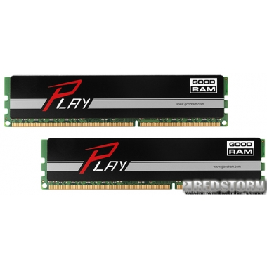 Память Goodram DDR3-1866 8196MB PC3-15000 (Kit of 2x4096) Play Black (GY1866D364L9AS/8GDC)