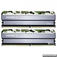 Оперативная память G.Skill DDR4-3000 16384MB PC4-24000 (Kit of 2x8192) Sniper X Classic Camo (F4-3000C16D-16GSXFB)