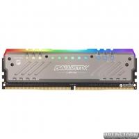 Оперативная память Crucial DDR4-3000 8192MB PC4-24000 Ballistix Tactical Tracer RGB (BLT8G4D30BET4K)