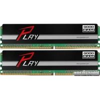 Goodram DDR4-2133 16384MB PC4-17000 (Kit of 2x8192) Play Black (GY2133D464L15S/16GDC)