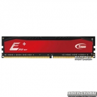 Оперативная память Team Elite Plus DDR3-1600 4096MB PC-12800 Red (TPRD34G1600HC1101)