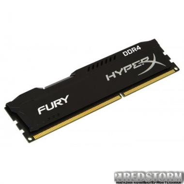 Память Kingston DDR4-2400 4096MB PC4-19200 HyperX Fury Black (HX424C15FB/4)