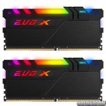 Оперативная память GeIL DDR4-3200 32768MB PC4-25600 (Kit of 2x16384) Evo X II Black (GEXSB432GB3200C16ADC)