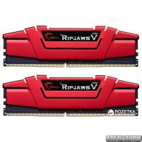 Оперативная память G.Skill DDR4-2400 16384MB PC4-19200 (Kit of 2x8192) Ripjaws V Red (F4-2400C15D-16GVR)