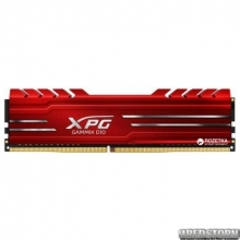 Оперативная память ADATA DDR4-3000 16384MB PC4-24000 XPG Gammix D10 Red (AX4U3000316G16-SRG)