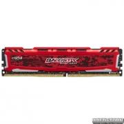 Оперативная память Crucial DDR4-2666 8192MB PC4-21300 Ballistix Sport LT Red (BLS8G4D26BFSEK)