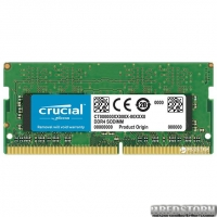 Оперативная память Crucial SODIMM DDR4-2400 8192MB PC4-19200 (CT8G4SFS824A)