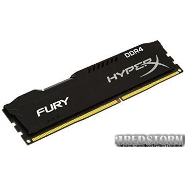 Память Kingston DDR4-2400 16384MB PC4-19200 HyperX Fury Black (HX424C15FB/16)