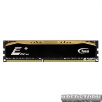 Оперативная память Team Elite Plus DDR3-1600 8192MB PC3-12800 Black (TPD38G1600HC1101)