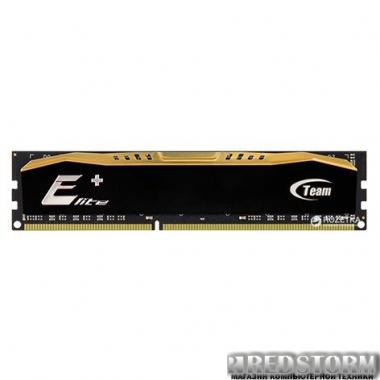 Оперативная память Team Elite Plus DDR3-1600 8192MB PC3-12800 Black (TPD38G1600HC1101)