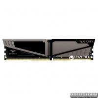 Оперативная память Team T-Force Vulcan DDR4-2400 4096MB PC-19200 Gray HS (TLGD44G2400HC1401)