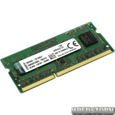 Память Kingston SODIMM DDR3L-1600 2048MB PC3L-12800 (KVR16LS11S6/2)