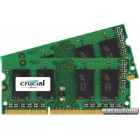 Crucial SODIMM DDR3L-1600 16384MB PC3-12800 (Kit of 2x8192) (CT2KIT102464BF160B)