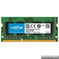 Оперативная память Crucial SODIMM DDR3L-1866 4096MB PC3L-14900 (CT51264BF186DJ)