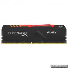Оперативная память HyperX DDR4-2666 8192MB PC4-21300 Fury RGB Black (HX426C16FB3A/8)