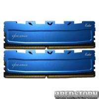 Модуль памяти для компьютера DDR4 8GB (2x4GB) 2400 MHz Blue Kudos eXceleram (EKBLUE4082417AD)