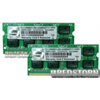 G.Skill SODIMM DDR3-1066 8192MB PC3-8500 (Kit of 2x4096) (F3-8500CL7D-8GBSQ)