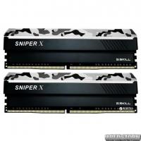 Оперативная память G.Skill DDR4-2400 16384MB PC4-19200 (Kit of 2x8192) Sniper X Urban Camo (F4-2400C17D-16GSXW)