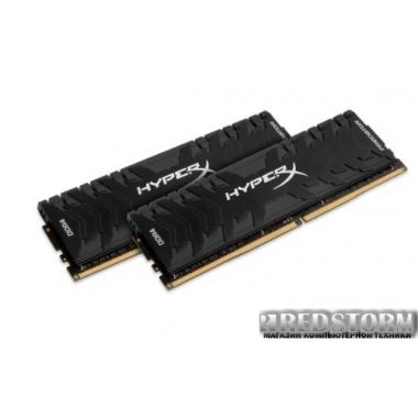 Память Kingston DDR4-3200 16384MB PC4-25600 (Kit of 2x8192) HyperX Predator Black (HX432C16PB3K2/16)