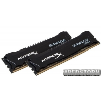 Kingston DDR4-2133 16384MB PC4-17064 (Kit of 2x8192) HyperX Savage (HX421C13SBK2/16)
